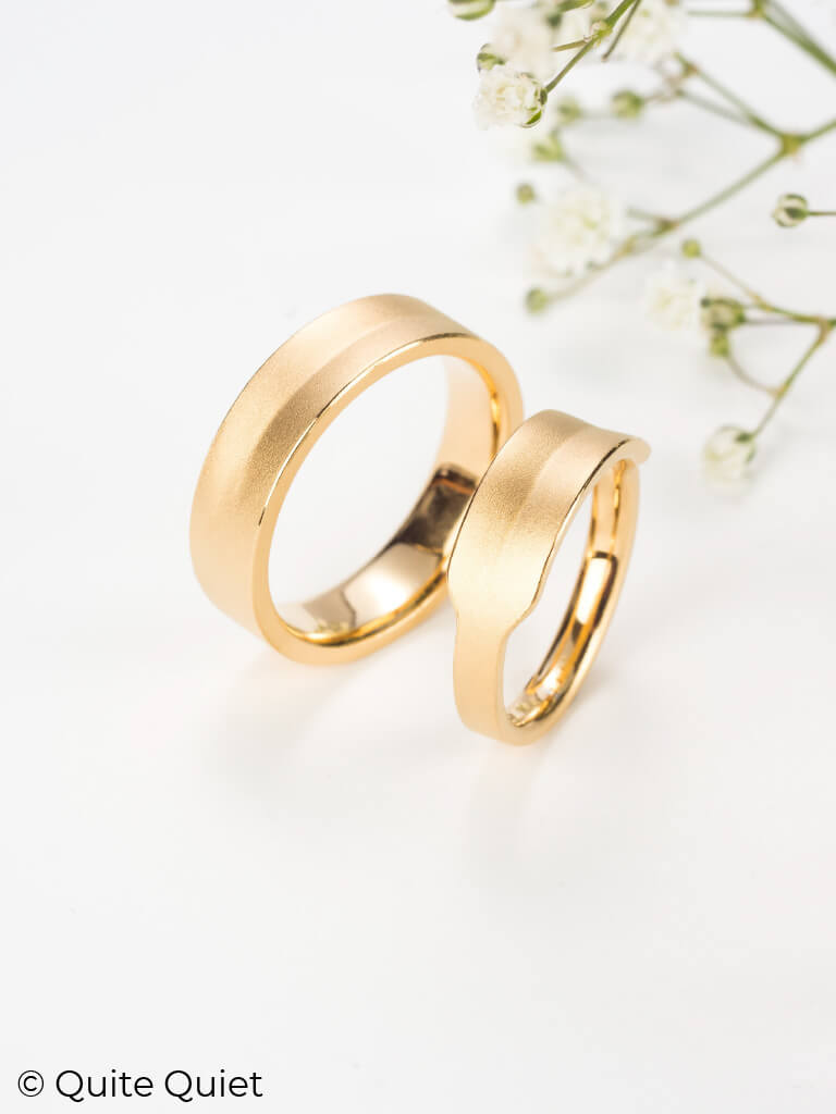 Nachhaltige Eheringe