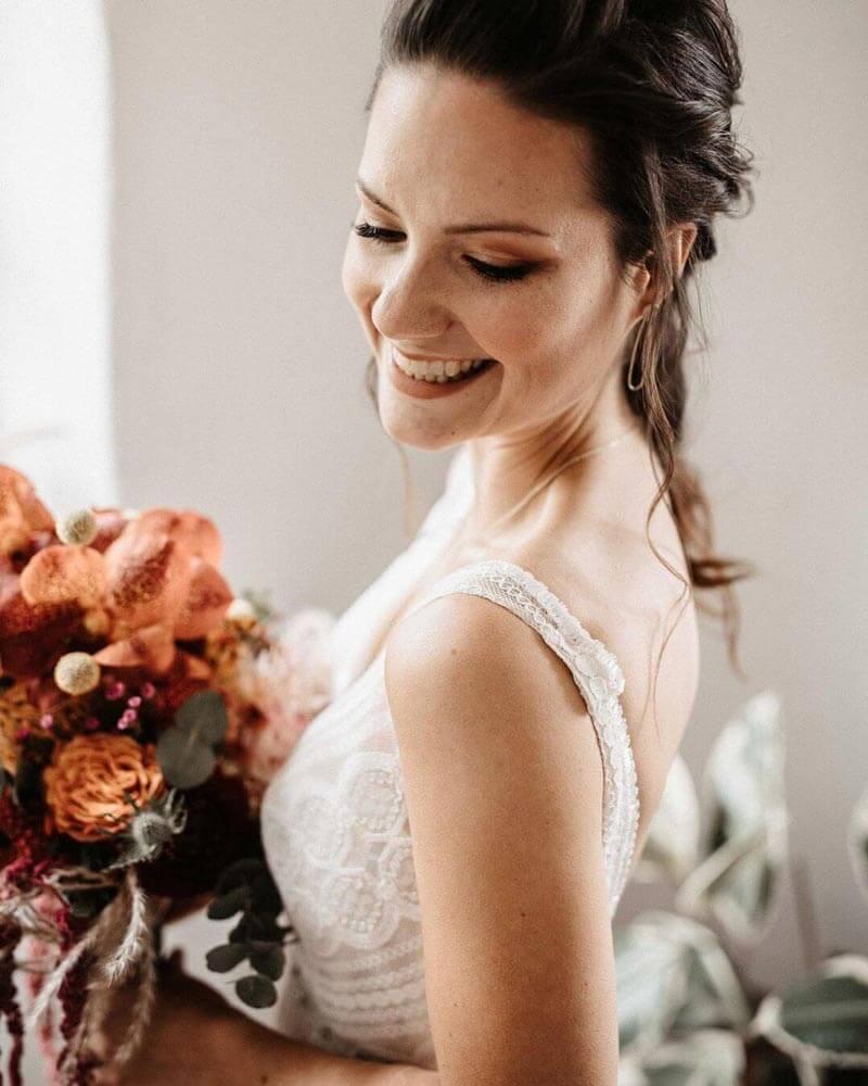 Gestylte Braut